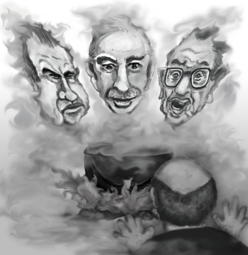The ghosts of Keynes, Nixon and Greenspan appear to Macben