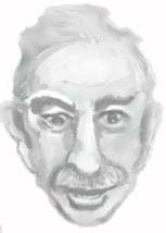 The ghostly disembodied head of John Maynard Keynes